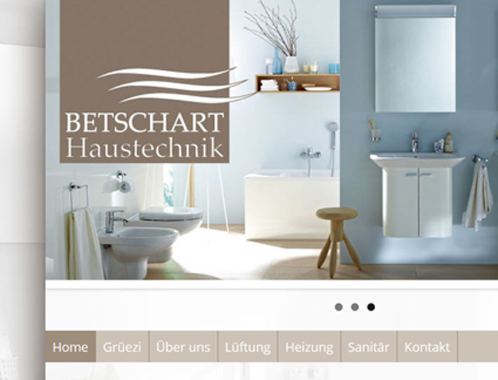 Betschart Haustechnik: Corporate Design